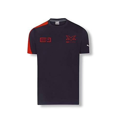 Red Bull Racing Max Verstappen Driver T-Shirt, Herren X-Large - Original Merchandise
