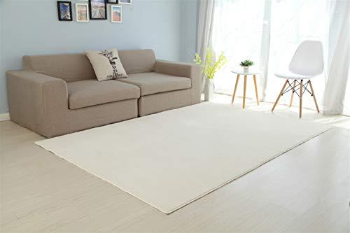 Alfombras De Habitacion Pelo Corto Beige alfombras de habitacion  Marca Ommda