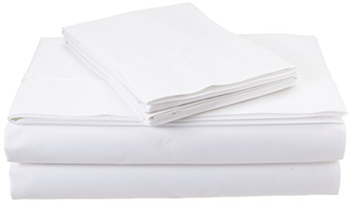 TEMPUR-Pima Cotton White Sheet Set, King