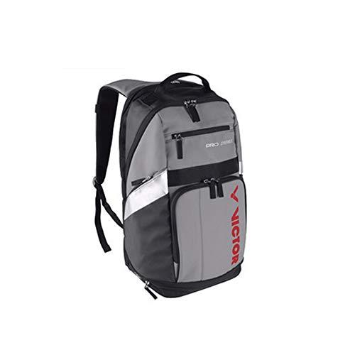 YIXINGSHANGMAO Badminton Racket Bag, Tennis Racket Bag, Shoulder Racquet Bag, Handle and Shoulder Strap, Large-Capacity Sports Bag, 1-3 Racket Bags, Waterproof and Dustproof. (Color : Black Gray)