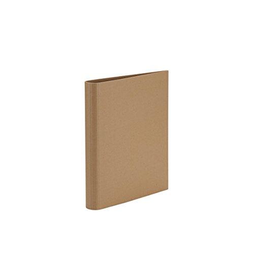S.O.H.O. 1316452620 A4 Kraft 2 Ringbuch für DIN A4, 2-Ring-Mechanik, 27cm x 32cm x 4,5 cm
