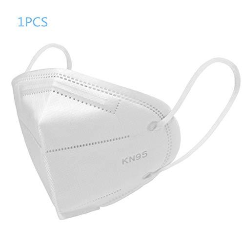 hereubuy Máscara antipolución, máscaras antipolvo para respirador de partículas KN95: antipolvo, humo, gases, alergias, gérmenes y equipo de protección personal para hombres y mujeres