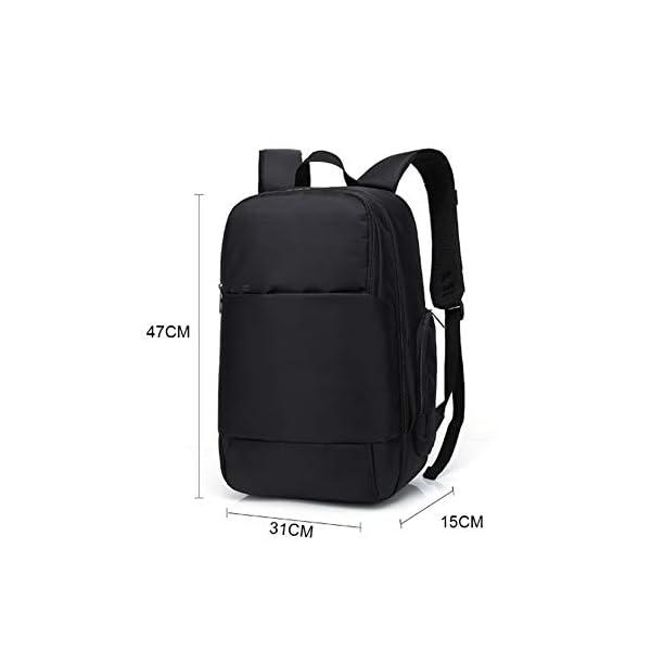 GUMU Portátil Ordenador Mochila de Mochila Estilo Clásico Impermeable con USB Puerto Bandolera La Bolsa Hombro Messenger…