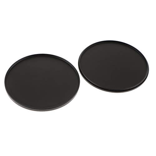 F Fityle 77mm Filterkappen zur Aufbewahrung, Filterschutzkappen, Stack Caps, Metall Filter Container, Schutz-Deckel
