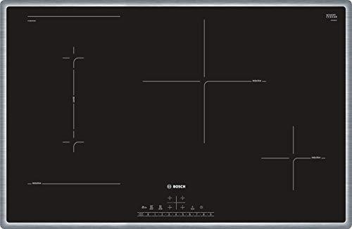 Bosch PVS845FB5E Serie 6 Induktionskochfeld (autark) / 80 cm / Schwarz / Umlaufender Rahmen / DirectSelect / 17 Leistungsstufen / PowerBoost / MoveMode / CombiZone