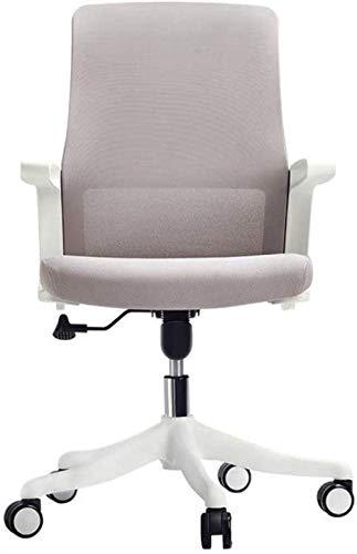 Silla de oficina Silla de oficina Silla de juego, silla de escritorio ajustable de altura ergonómica, silla de tareas de malla transpirable, inclinación, silla giratoria de 360 ° silla giratoria -19