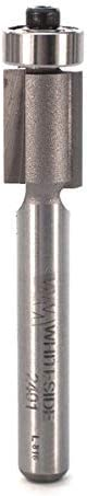 2021 Whiteside Router Bits 2401 Flush popular Trim Bit with 3/8-Inch Cutting Diameter and online sale 1/2-Inch Cutting Length outlet online sale