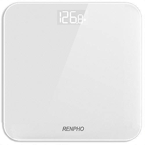 RENPHO Digital Bathroom Scale, Highly Accurate Body Weight Scale with...