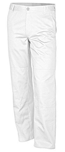 Qualitex Bundhose-Basic 100% CO 240 G/M² Farbe Weiss Größe 50