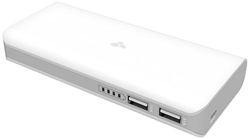 KANEX - KBY20 - Mobile battery Pack avec support intégré pour smartphones - blanc