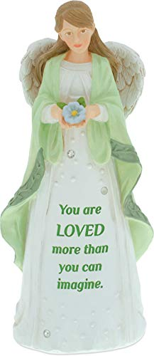AngelStar Angel Figurine - You are Loved, Multicolored