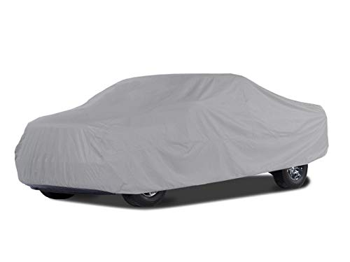 Covermates Outdoor Truck Covers - BlockTite Prime 3 Ply Premium Non Woven - Weatherproof and Breathable - Grey