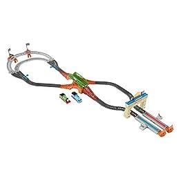 Thomas&Friends- Pista la Grande Corsa, Include Un Esclusivo Percy Locomotiva e Uno Speciale Thom