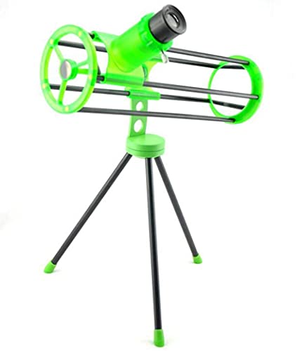 JIAWYJ Teleskop/astronomisches Teleskop, reflektierendes monokulares Kinderspielzeug-Kunststoffmaterial mit Okular-Stativ/Rohstoffcode: WXJ-957