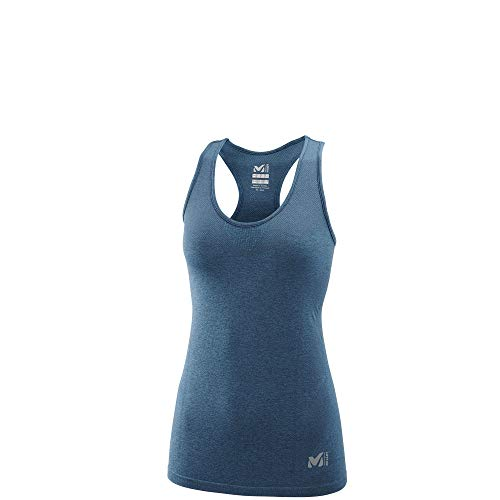 Millet LD LTK Seamless Light Tan Débardeur Femme, Bleu (Orion Blue), FR : L (Taille Fabricant : M/L)