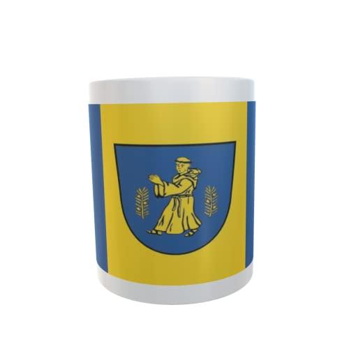 U24 Tasse Kaffeebecher Mug Cup Flagge Mönchhagen