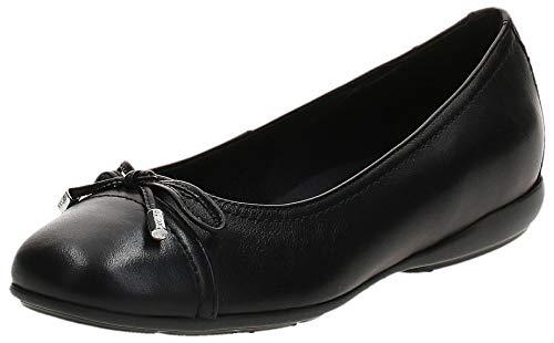 Geox D ANNYTAH D, Bailarinas Mujer, Negro (Black C9997), 38.5 EU