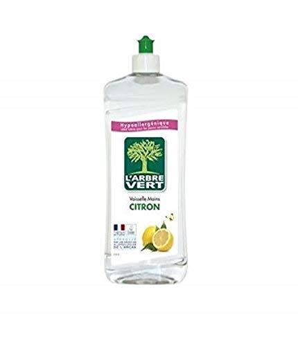 L'Arbre Vert 28007 Liquide vaisselle Citron - 750 ml (Pack de 3)