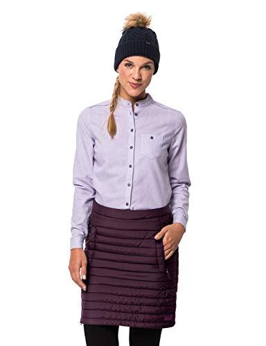 Jack Wolfskin Damen ICEGUARD Skirt Rock, aubergine, XS