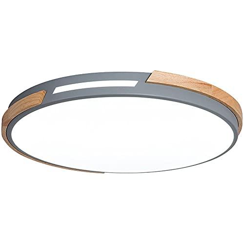 CSSYKV Lámpara De Techo LED Redonda Moderna Y Simple Lámpara De Techo con Atenuación De Tres Colores, Ultradelgada De 2.3 Pulgadas