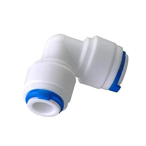 DierCosy Kit de Limpieza de Conectores de Tubos de Agua purificador de Agua Junta de tubería de Agua de la Manguera Nevera Nevera 10M