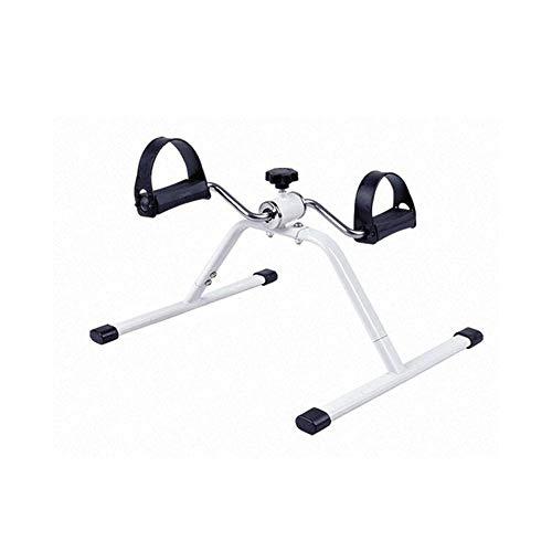Mini hometrainer Portable Pedal Exerciser Eenvoudige installatie met Resistance Bijstelknop Gebruikt voor Limb Joint Exercise, Fitness Mooie Benen, Ouderen fysieke rehabilitatie