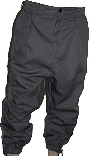Islamische Kleidung Amana Harem Arbeits/Freizeit - Hose Sunnah Hose Grau (Größe 4XL)