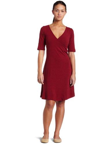 Prana Women's Nadia Dress,Crimson,X-Large