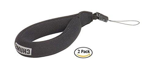 Chums- Waterproof Camera Float, Black (2 Pack)