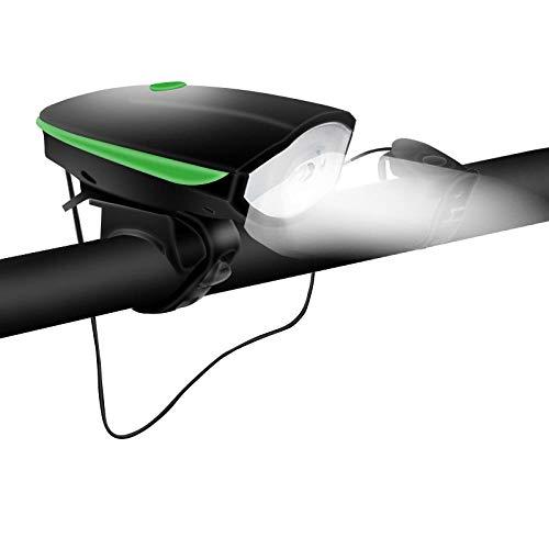 UNKNO Juego De Luces Led para Bicicleta Faros Recargables USB Luz De Bicicleta Luz De Bicicleta De Montaña Luz Delantera