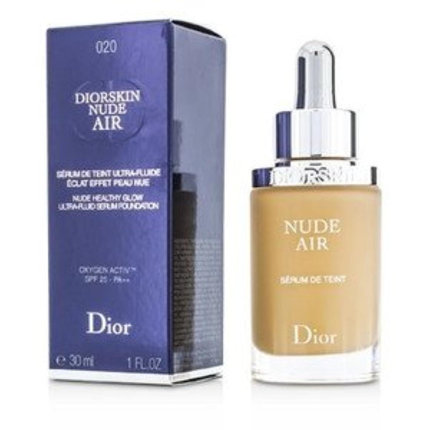 叫び声エキスパート愛情Dior(ディオール) ディオールスキン ヌード エアー セラム ファンデーション SPF25 #020 Light Beige 30ml/1oz [並行輸入品]