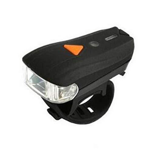 Zidao Luz de la Bicicleta, Impermeable Lumen de Bicicletas Los Faros y Luces traseras con Carga USB Luces de la Bicicleta con la iluminación,Negro