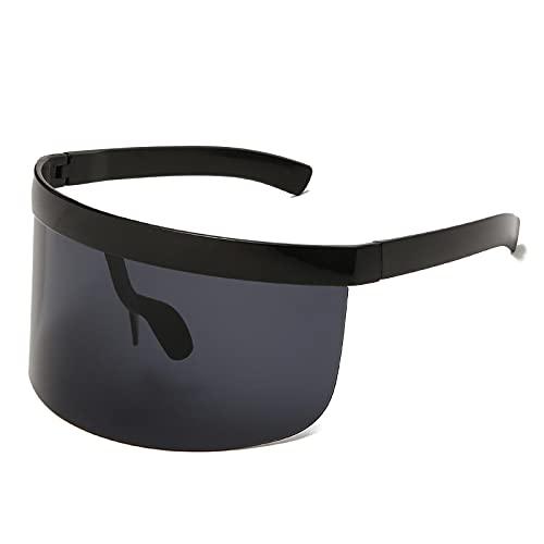 WANGZX Gafas De Sol Súper Grandes Gafas De Sol Retro para Hombres Y Mujeres Diseño De Marca Gafas Uv400 04