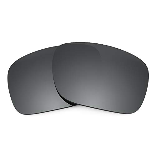 Revant Replacement Lenses for Oakley Holbrook, Non-Polarized, Negro Cromado MirrorShield