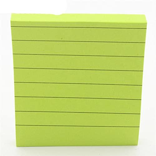 Línea horizontal 80 hojas de papel Bloc de notas Notas adhesivas Marcador Point it Marcador Memo Sticker Oficina Material escolar Cuadernos-D