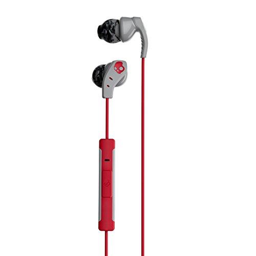 Auriculares internos con micrófono Skullcandy Method, GRIS/ROJO