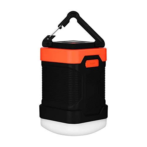 SUNTATOP Lanterne de Camping, Chargeur de Banque d'Alimentation 10000mAh, IP65 Étanche LED Lampe de Secours Extérieure pour Lampe de Pêche de Camping
