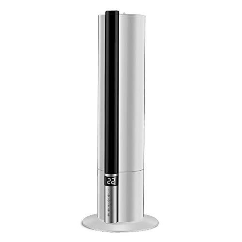 WSJTT Humidificador ultrasónico de niebla cálida y fresca en el dormitorio silencioso de pie, de pie (7.5 l), difusor de aceite esencial, 31-40㎡, temporizador, vaporizador, ajuste automático de humeda