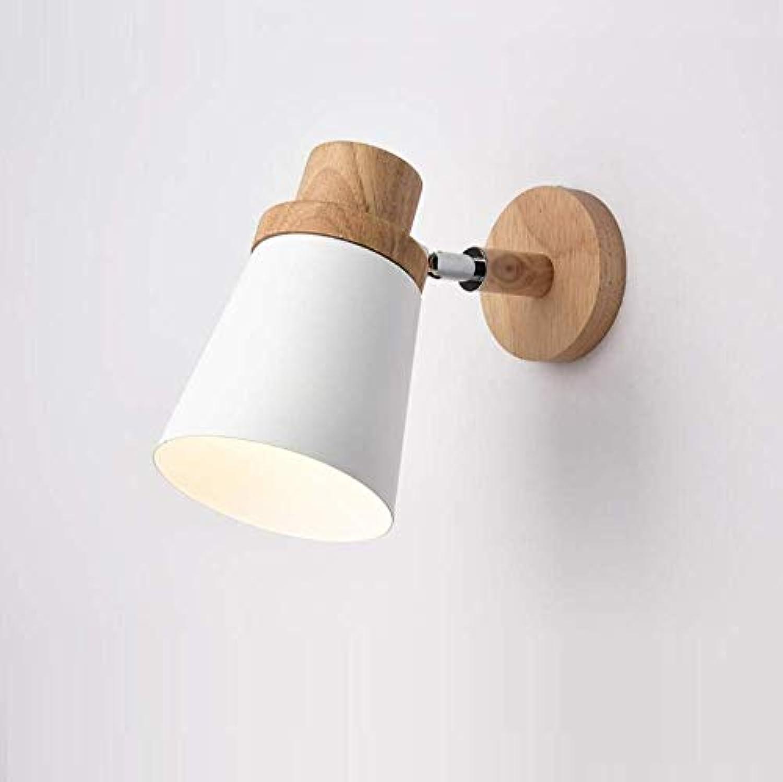 OwentsWall Lamp Nordic Led Logs Weie Wandleuchte Schlafzimmer Nachtwandleuchte Einfache Moderne Wohnzimmer Kreative Gangflurleuchten