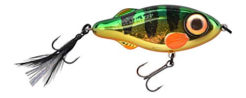 Spro IRIS Flash Jerk 115 Perch JERKBAIT - Caña de pescar (sumergible lentamente, 11,5 cm, 65 g)