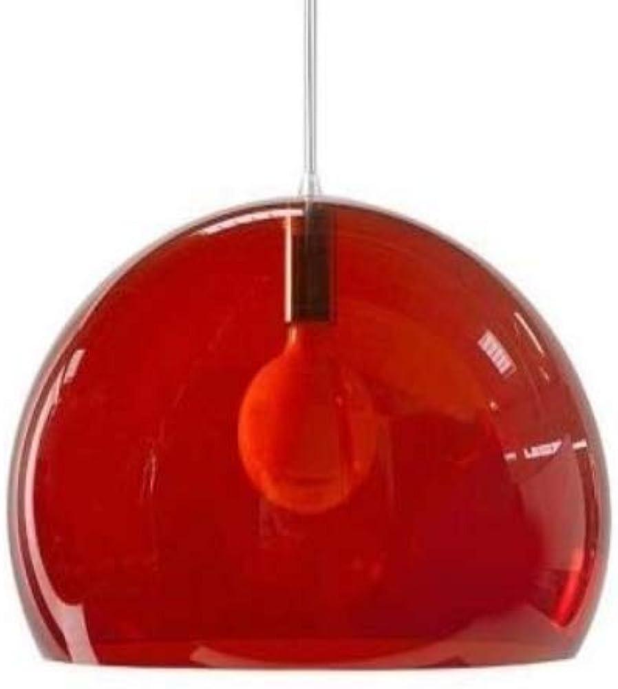 Kartell fl/y, lampada a sospensione e27,100% pmma 09030K3