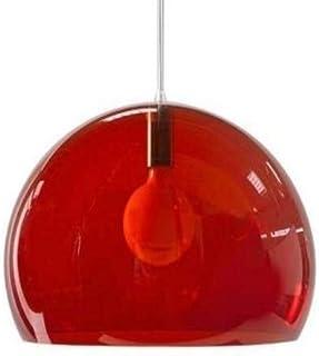 Kartell FL/Y Lighting, E27, Red