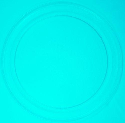 Mikrowellenteller / Drehteller / Glasteller für Mikrowelle # ersetzt LIFE Mikrowellenteller # Durchmesser Ø 36 cm / 360 mm # Ersatzteller # Ersatzteil für die Mikrowelle # Ersatz-Drehteller # OHNE Drehring # OHNE Drehkreuz # OHNE Mitnehmer