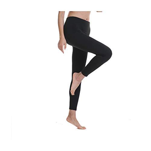 KKMAOAO Damen Yoga-Hose, modische Hose, für Training, Tanz, Hüfte, hohe Taille, Leggings, Stretch, dünn, Fitness-Hose, Schwarz, Sport-Hose, Sommer, Outdoor, Reisen, Wild M farbe