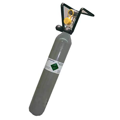 Gastrobedarf Westerbarkey Co² Flasche 500g gefüllt mit Lebensmittel Kohlensäure Tüv mit Cage