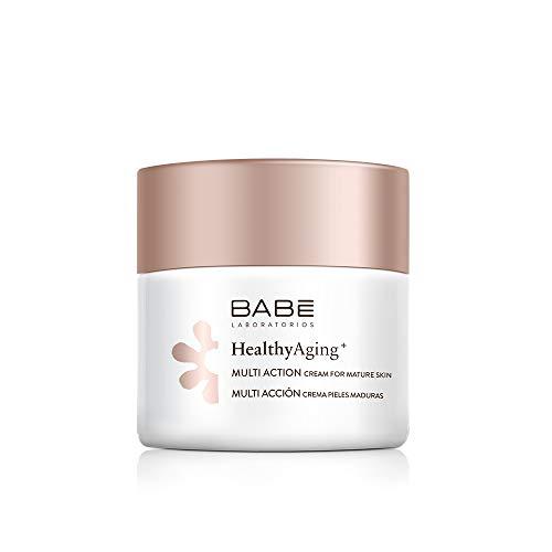 Laboratorios Babe Multi Crema Facial Hidratante, Nutritiva, Antiarrugas, Antioxidante para