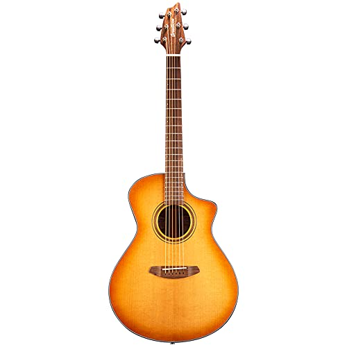 Breedlove Organic Series Signature Concert CE All Solid Torrefied European/African Mahogany Acoustic Electric Guitar