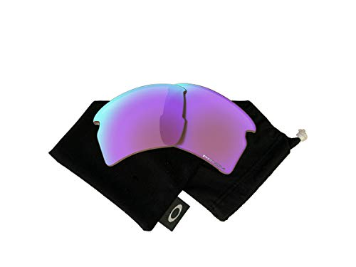 Oakley Original Flak 2.0 XL OO9188 PRIZM Golf REPLACEMENT Lenses +BUNDLE with Oakley Microfiber Cloth Bag