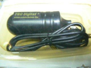 prodigital Antenna TV Digitale TERRESTRE DVB-T Portatile Db per Auto e Camper con Forte CALAMITA alla Base