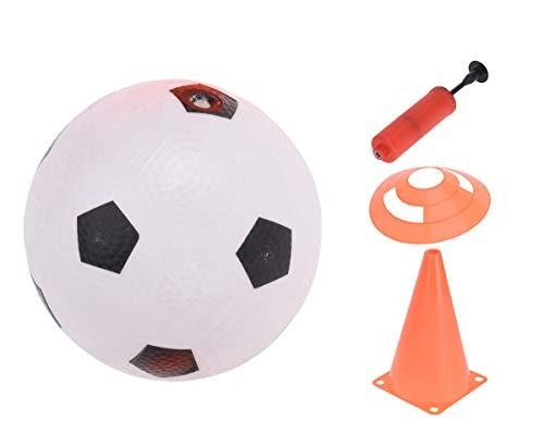 made2trade 10 teiliges Fußball-Trainingsset für Kinder